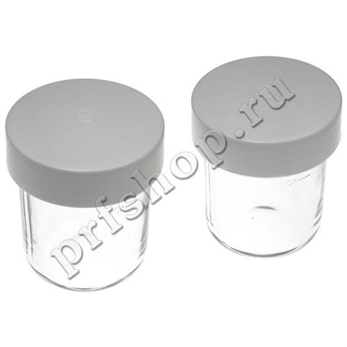 Стакан с крышкой для мини-измельчителя к кухонной машине (комплект из 2 шт.) - фото 9533