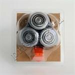 Головка бреющая для электробритвы (комплект из 3 шт.),  RQ12/60