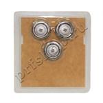 Головка бреющая для электробритвы (комплект из 3 шт.), HQ8/50
