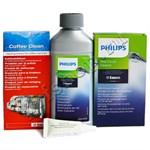 Комплект средств по уходу за кофемашиной Saeco/Philips (полный)